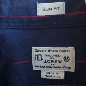 J Crew Slim Fit Striped Shirt
